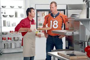 Peyton Manning and Papa Johns