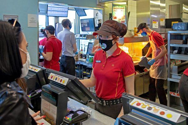 McDonald's worker shortage