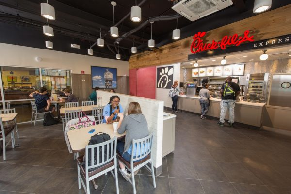 chick fil a on college campus
